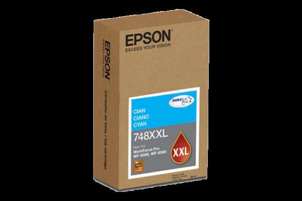 tinta epson wf-6590 cyan
