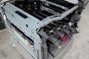 como es una fotocopiadora por dentro